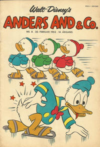 Cover Thumbnail for Anders And & Co. (Egmont, 1949 series) #8/1962