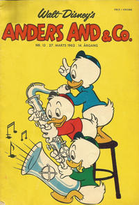 Cover Thumbnail for Anders And & Co. (Egmont, 1949 series) #13/1962