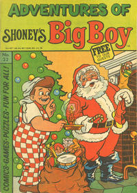 Cover Thumbnail for Adventures of Big Boy (Paragon Products, 1976 series) #22 [Shoney's]
