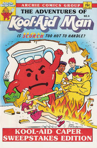 Cover Thumbnail for The Adventures of Kool-Aid Man (Archie, 1987 series) #4 [Archie banner; no barcode]