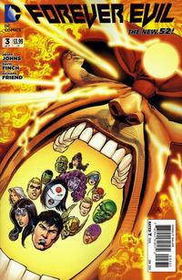Cover Thumbnail for Forever Evil (DC, 2013 series) #3 [Firestorm Variant Cover]