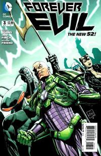 Cover Thumbnail for Forever Evil (DC, 2013 series) #3 [Secret Society of Super-Villains Variant Cover]
