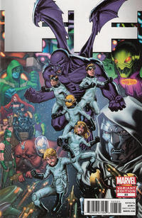 Cover Thumbnail for FF (Marvel, 2011 series) #23 [Variant Edition]