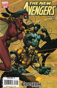 Cover Thumbnail for New Avengers (Marvel, 2005 series) #27 [Coliseum of Comics]