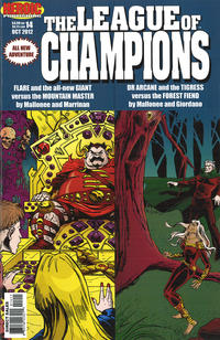 Cover Thumbnail for League of Champions (Heroic Publishing, 1990 series) #14
