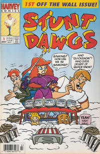Cover Thumbnail for Stunt Dawgs (Harvey, 1993 series) #1 [Newsstand]
