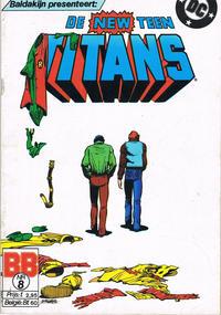Cover Thumbnail for De New Teen Titans (JuniorPress, 1985 series) #8