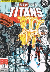 Cover Thumbnail for De New Teen Titans (JuniorPress, 1985 series) #9