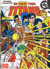 Cover Thumbnail for De New Teen Titans (JuniorPress, 1985 series) #5