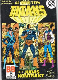 Cover Thumbnail for De New Teen Titans (JuniorPress, 1985 series) #10