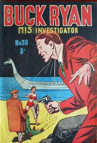 Cover Thumbnail for Buck Ryan (Atlas, 1949 series) #30