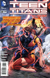Cover Thumbnail for Teen Titans (DC, 2011 series) #26 [Direct Sales]