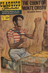 Cover Thumbnail for Classics Illustrated (Gilberton, 1947 series) #3 [HRN 166] - The Count of Monte Cristo