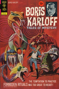 Cover Thumbnail for Boris Karloff Tales of Mystery (Western, 1963 series) #43 [15¢]