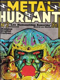 Cover Thumbnail for Métal Hurlant (Les Humanoïdes Associés, 1975 series) #2