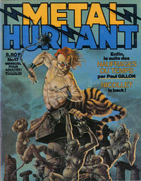 Cover Thumbnail for Métal Hurlant (Les Humanoïdes Associés, 1975 series) #17