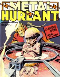 Cover Thumbnail for Métal Hurlant (Les Humanoïdes Associés, 1975 series) #20