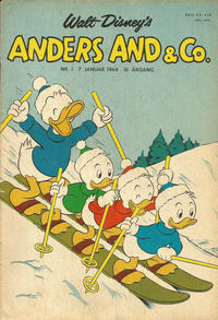 Cover Thumbnail for Anders And & Co. (Egmont, 1949 series) #1/1964