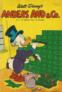 Cover Thumbnail for Anders And & Co. (Egmont, 1949 series) #7/1964