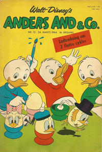 Cover Thumbnail for Anders And & Co. (Egmont, 1949 series) #12/1964