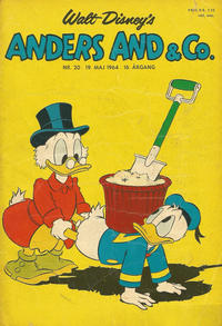 Cover Thumbnail for Anders And & Co. (Egmont, 1949 series) #20/1964