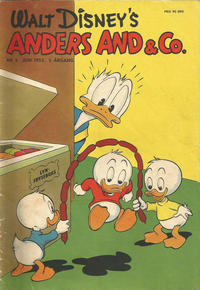 Cover Thumbnail for Anders And & Co. (Egmont, 1949 series) #6/1953