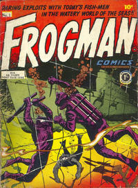 Cover Thumbnail for Frogman Comics (Thorpe & Porter, 1952 series) #1