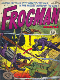 Cover Thumbnail for Frogman Comics (Thorpe & Porter, 1952 series) #3