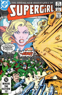 Cover Thumbnail for The Daring New Adventures of Supergirl (DC, 1982 series) #7 [Direct]