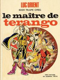 Cover Thumbnail for Luc Orient (Le Lombard, 1969 series) #3 - Le maître de Terango