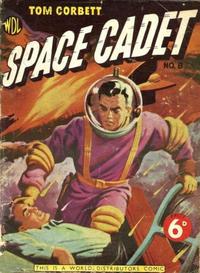 Cover Thumbnail for Tom Corbett Space Cadet (World Distributors, 1953 series) #8