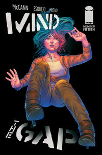 Cover Thumbnail for Mind the Gap (Image, 2012 series) #15 [Cover by Rodin Esquejo and Arif Prianto]