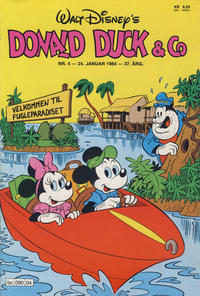 Cover Thumbnail for Donald Duck & Co (Hjemmet / Egmont, 1948 series) #4/1984