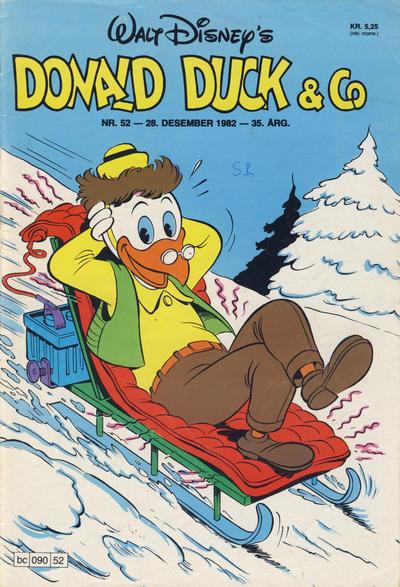 Cover for Donald Duck & Co (Hjemmet / Egmont, 1948 series) #52/1982