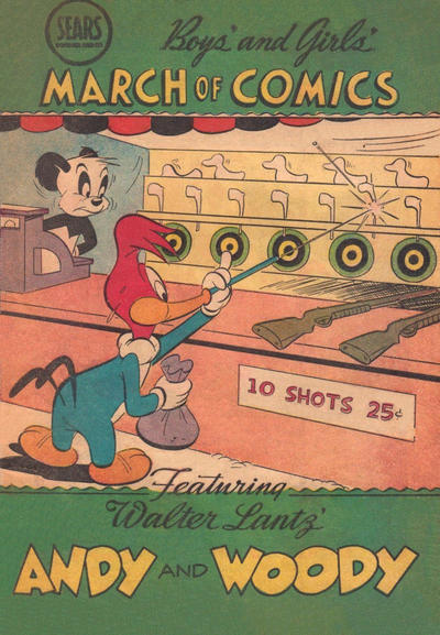 Cover for Boys' and Girls' March of Comics (Western, 1946 series) #76