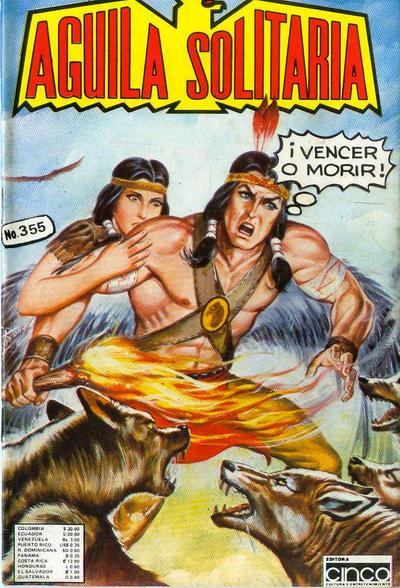 Cover for Aguila Solitaria (Editora Cinco, 1976 ? series) #355