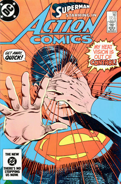 Cover for Action Comics (DC, 1938 series) #558 [direct-sales]
