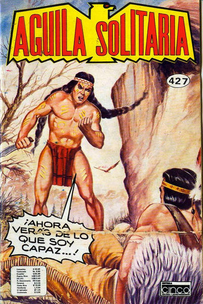 Cover for Aguila Solitaria (Editora Cinco, 1976 ? series) #427