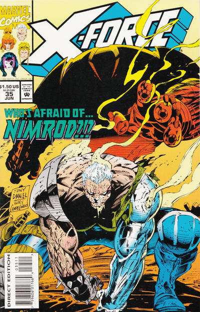 Cover for X-Force (Marvel, 1991 series) #35 [Newsstand]