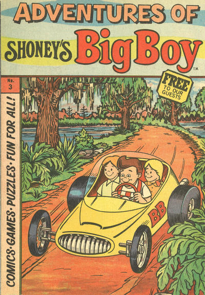 Cover for Adventures of Big Boy (Paragon Products, 1976 series) #3