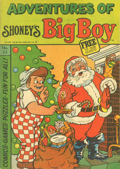 Cover for Adventures of Big Boy (Paragon Products, 1976 series) #22 [Shoney's]