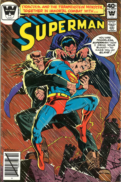 Cover for Superman (DC, 1939 series) #344 [Whitman Variant]