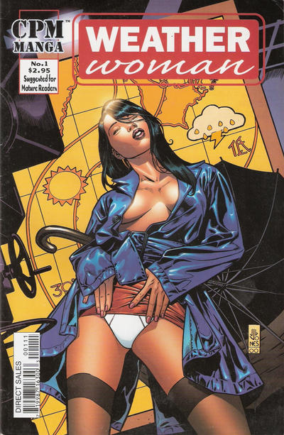 Cover for Weather Woman (Central Park Media, 2000 series) #1 [J. G. Jones]