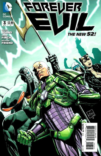 Cover for Forever Evil (DC, 2013 series) #3 [Crime Syndicate Variant Cover]
