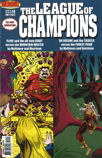 Cover for League of Champions (Heroic Publishing, 1990 series) #14