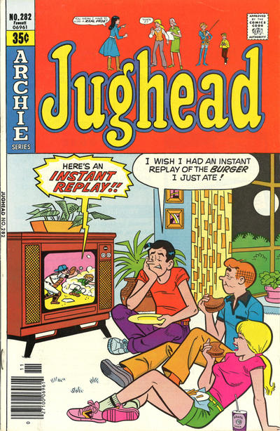 Cover for Jughead (Archie, 1965 series) #282