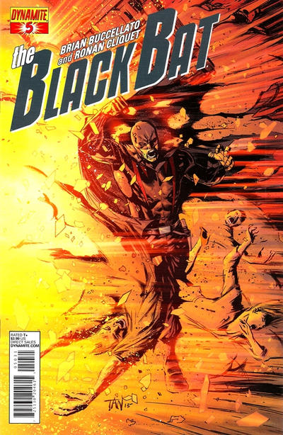Cover for The Black Bat (Dynamite Entertainment, 2013 series) #5 [Exclusive Subscription Cover Billy Tan]