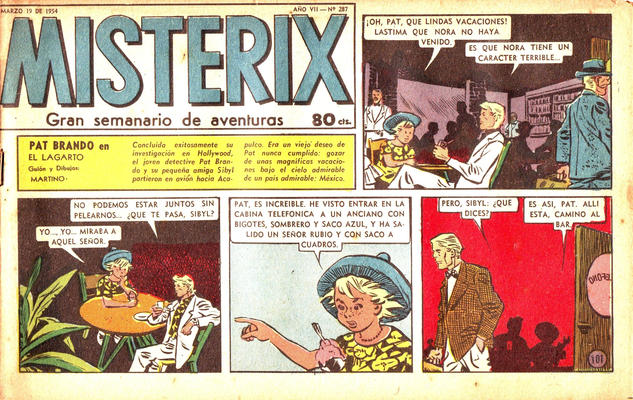 Cover for Misterix (Editorial Abril, 1948 series) #287