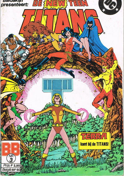 Cover for De New Teen Titans (JuniorPress, 1985 series) #3