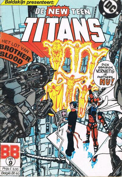Cover for De New Teen Titans (JuniorPress, 1985 series) #9